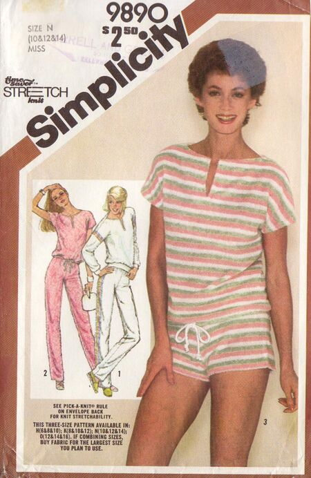 Simplicity 9890 A