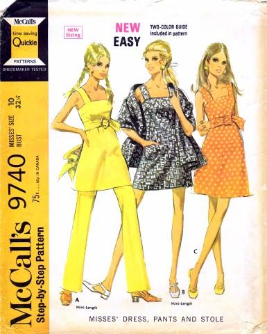 McCalls 1969 9740