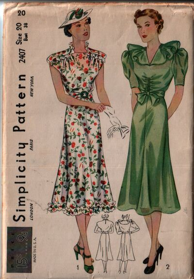 Simplicity 2407 front