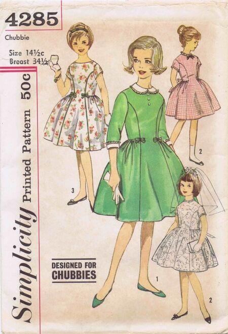 Simplicity 1962 4285