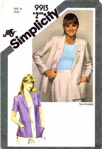 Simplicity 1981 9913 A