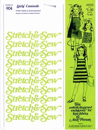 Stretch & Sew 1978 904