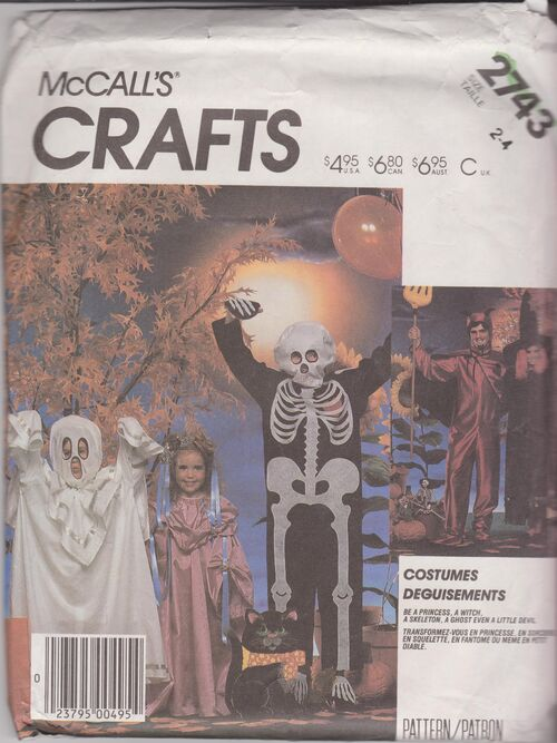 McCalls Crafts 2743 costumes