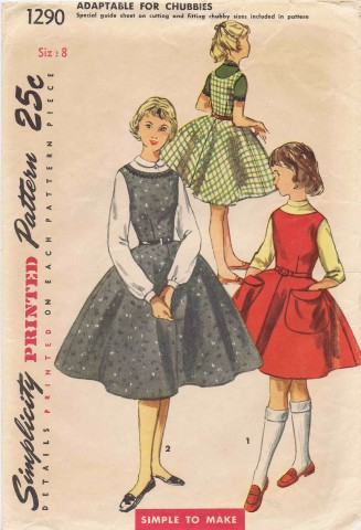 Simplicity 1955 1290