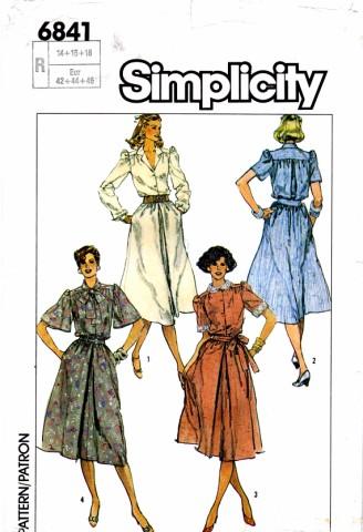 Simplicity 1985 6841