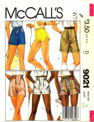 McCalls 1984 9021