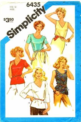 Simplicity 1983 6435