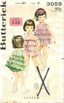 Butterick 3058