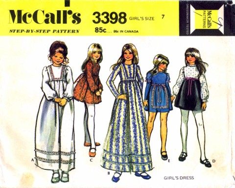 McCalls 1972 3398
