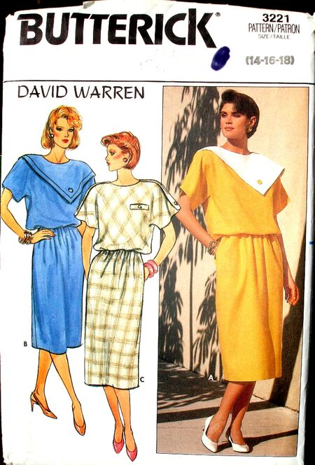 Butterick 3221A image