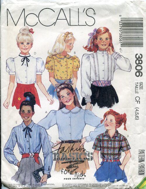 Mccalls3806blouses