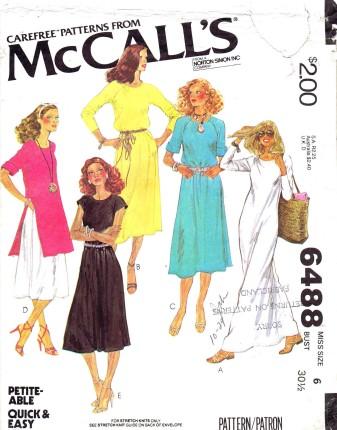 McCalls 1979 6488