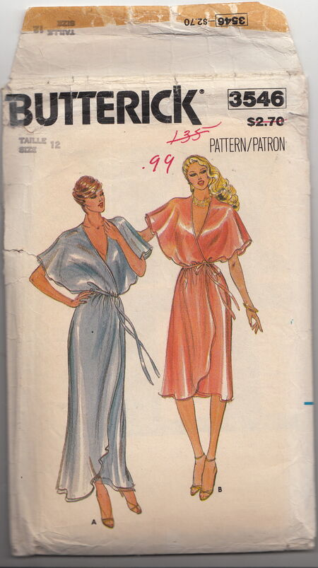 Butterick 3546 dress