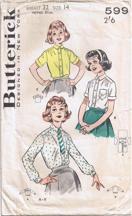 Butterick 599