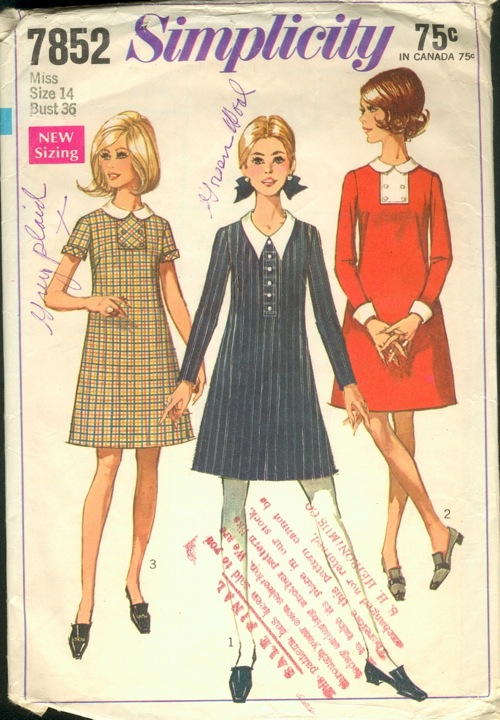 Simplicity 7852 Vintage Sewing Patterns Fandom Powered