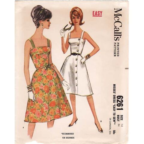 File:Vintage Audrey 1960's Fitted Sundress