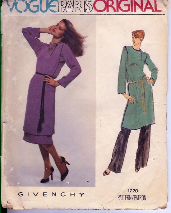 1720V 1970s Givenchy