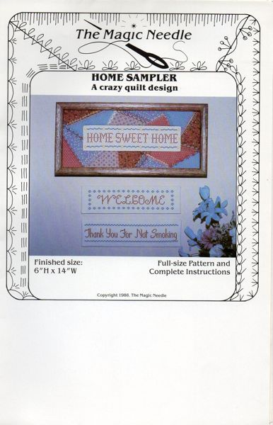 Home Sampler Home Sweet Home Quilt