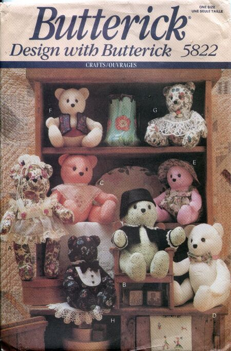 Butterick5822bears