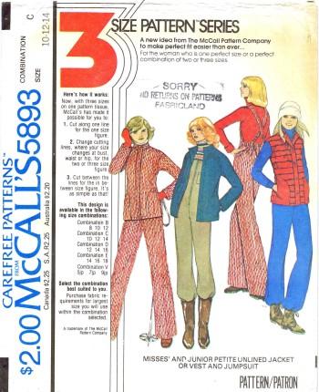 McCalls 1977 5893
