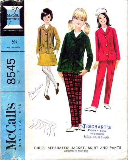 McCalls 1966 8545