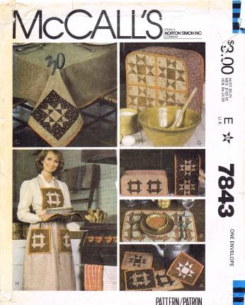 McCalls 1981 7843