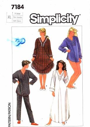 Simplicity 7184