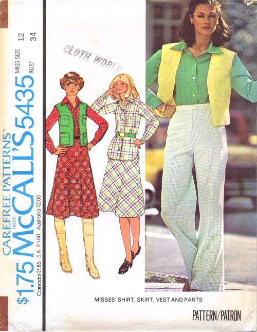 McCalls 1977 5435