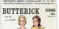 Butterick 3386 A