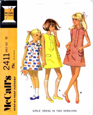 McCalls 1970 2411