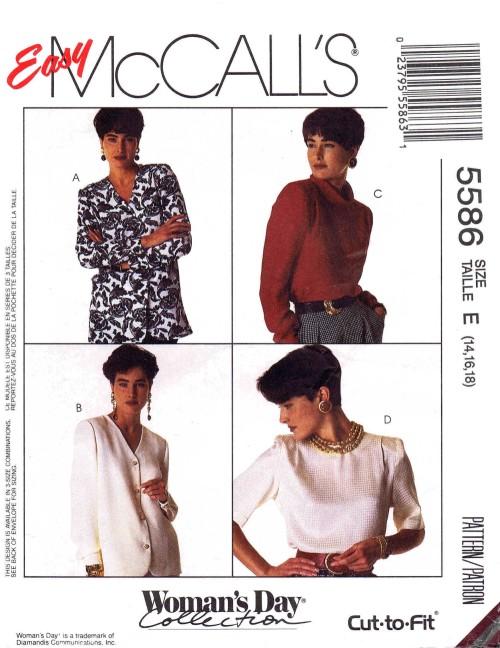 McCalls 1991 5586
