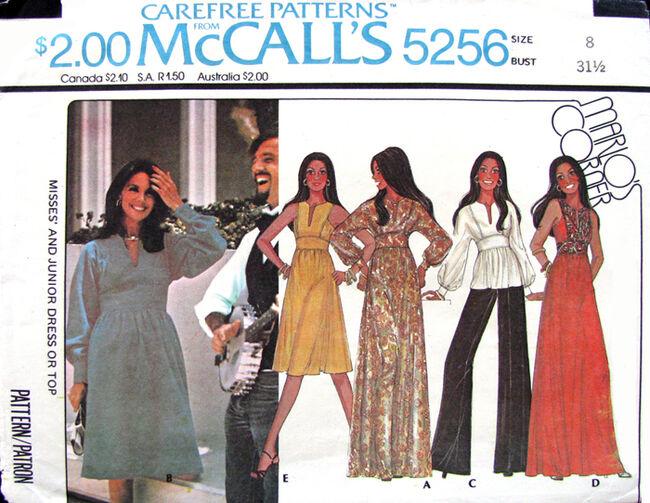 Mccalls 5256