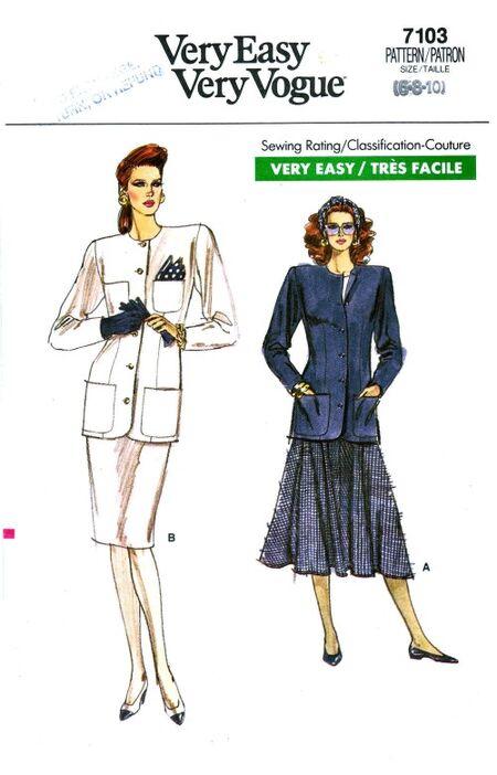 Vogue 1987 7103