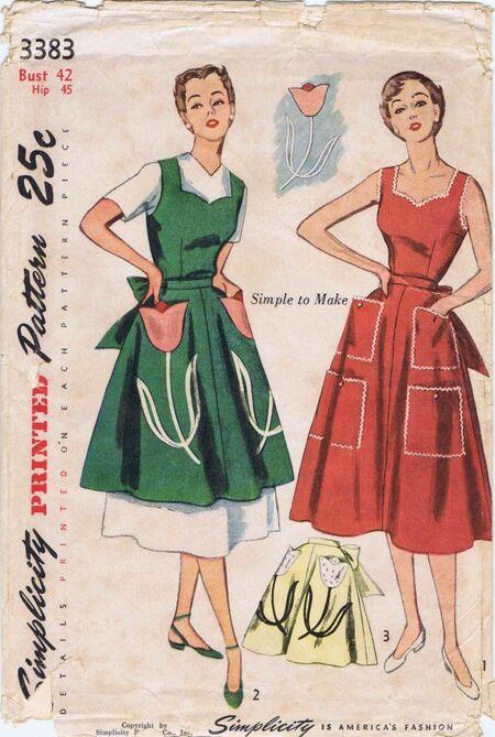 Simplicity 1950 3383