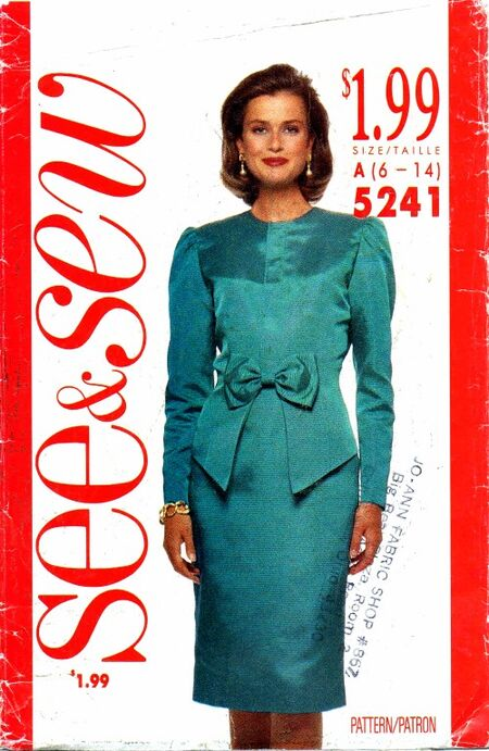 See & Sew 1990 5241