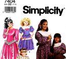 Simplicity 7404 B