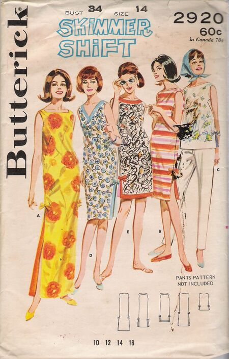 Butterick 2920 image