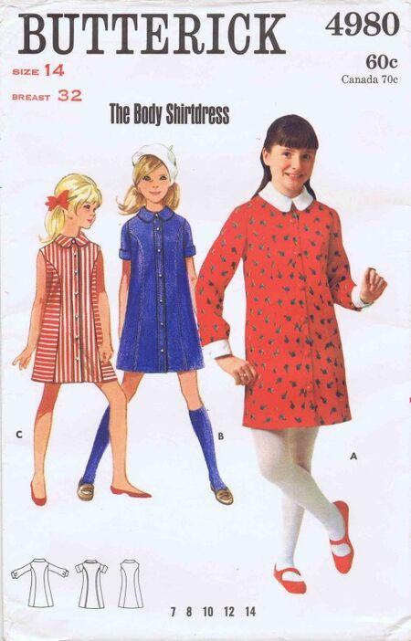 Butterick 1969 4980