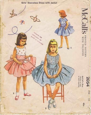 McCalls 1956 2054