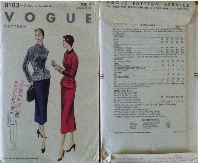 Vogue 8103