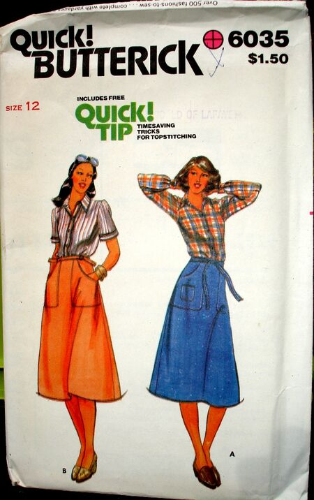 Butterick 6035 A image