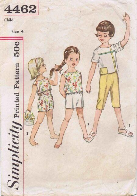Simplicity 1962 4462
