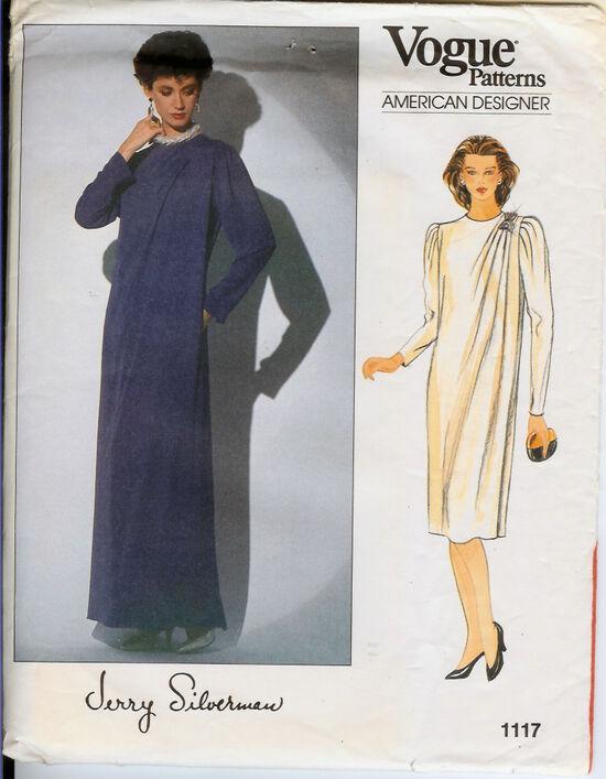 1117 70s Long Dress