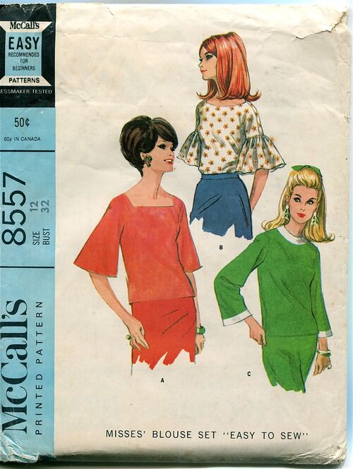McCalls 8557 Vintage Sewing Patterns at Design Rewind Fashions on Etsy a