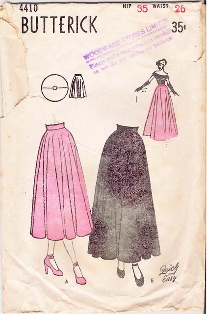 1940's Butterick 4410