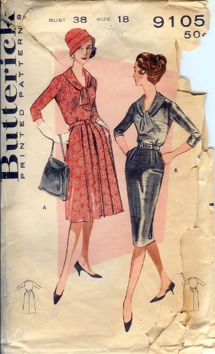 9105B 1950s Dress