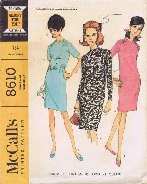 McCalls 1966 8610