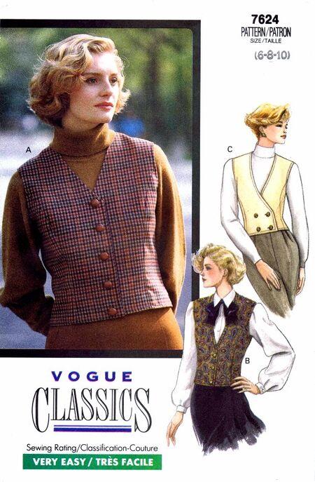 Vogue 1989 7624