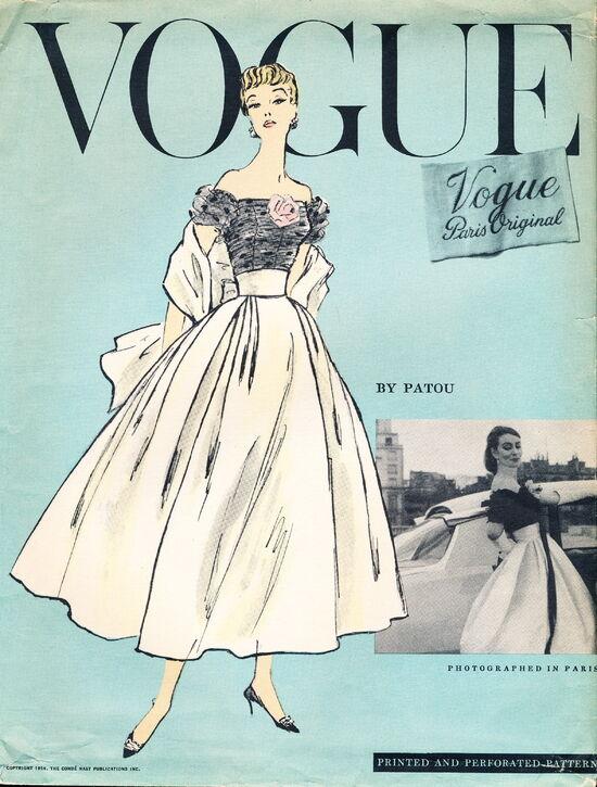 Vogue 1339 (1956) scan