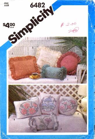 Simplicity 1984 6482